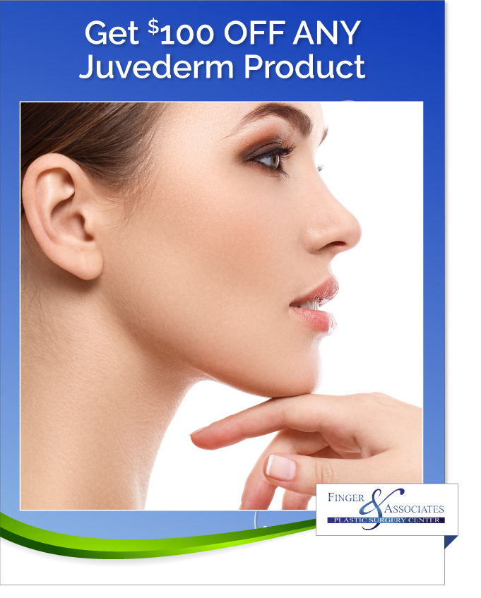 New Youth Medical Spa & Finger and Associates Specials Save on Juvederm