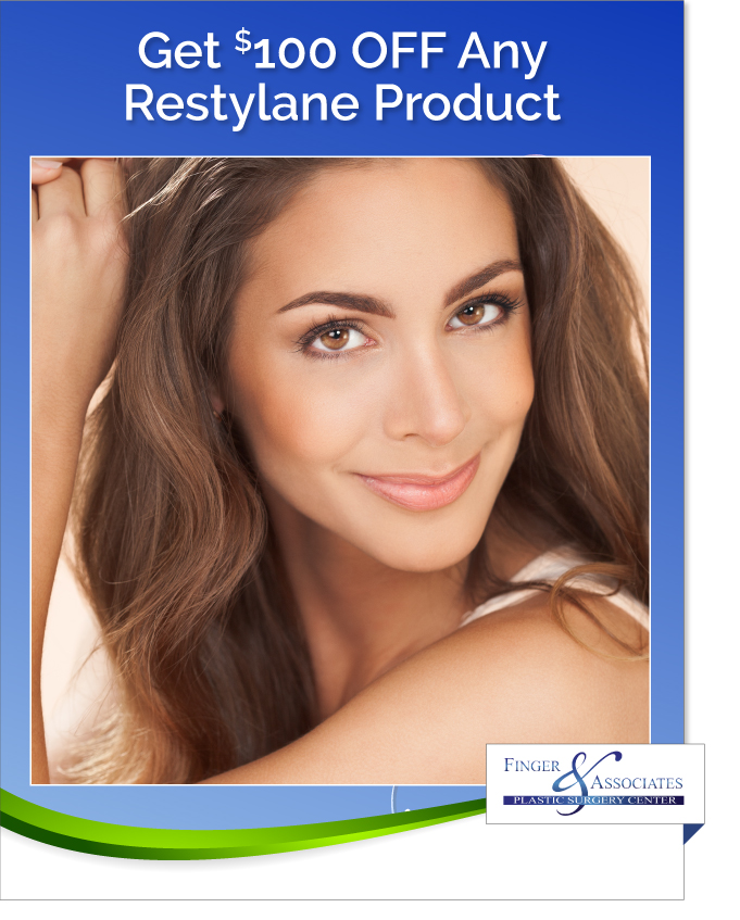 New Youth Medical Spa & Finger and Associates Specials Save on Restylane