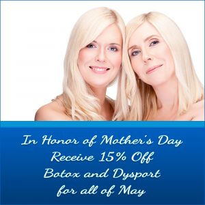 Botox & Dysport 15% Off in May - Aesthetic Treatment Specials