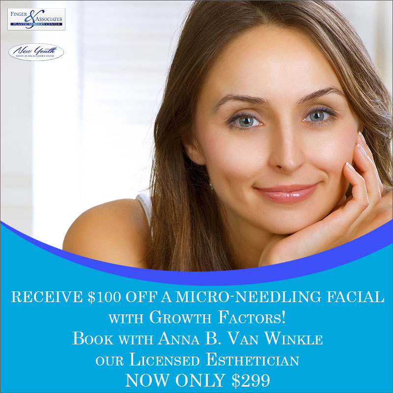 Receive 100 Off Microneedling