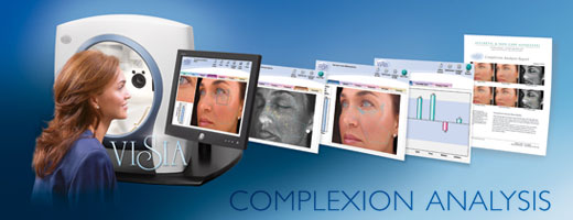 New Youth Medical Spa VISIA Complexion Analysis in Savannah, GA and Hilton Head, SC