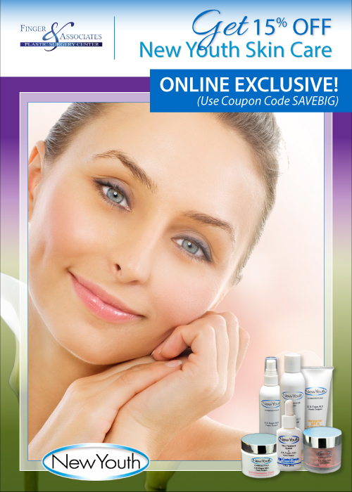 Monthly Specials at New Youth Skin Care