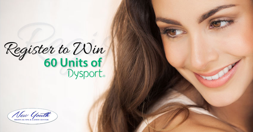 Register to Win 60 Units of Dysport at New Youth Medical Spa