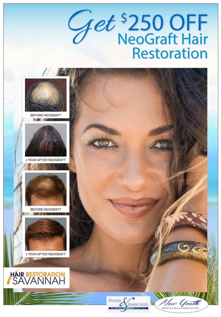 GET $250 OFF NeoGraft Hair Restoration
