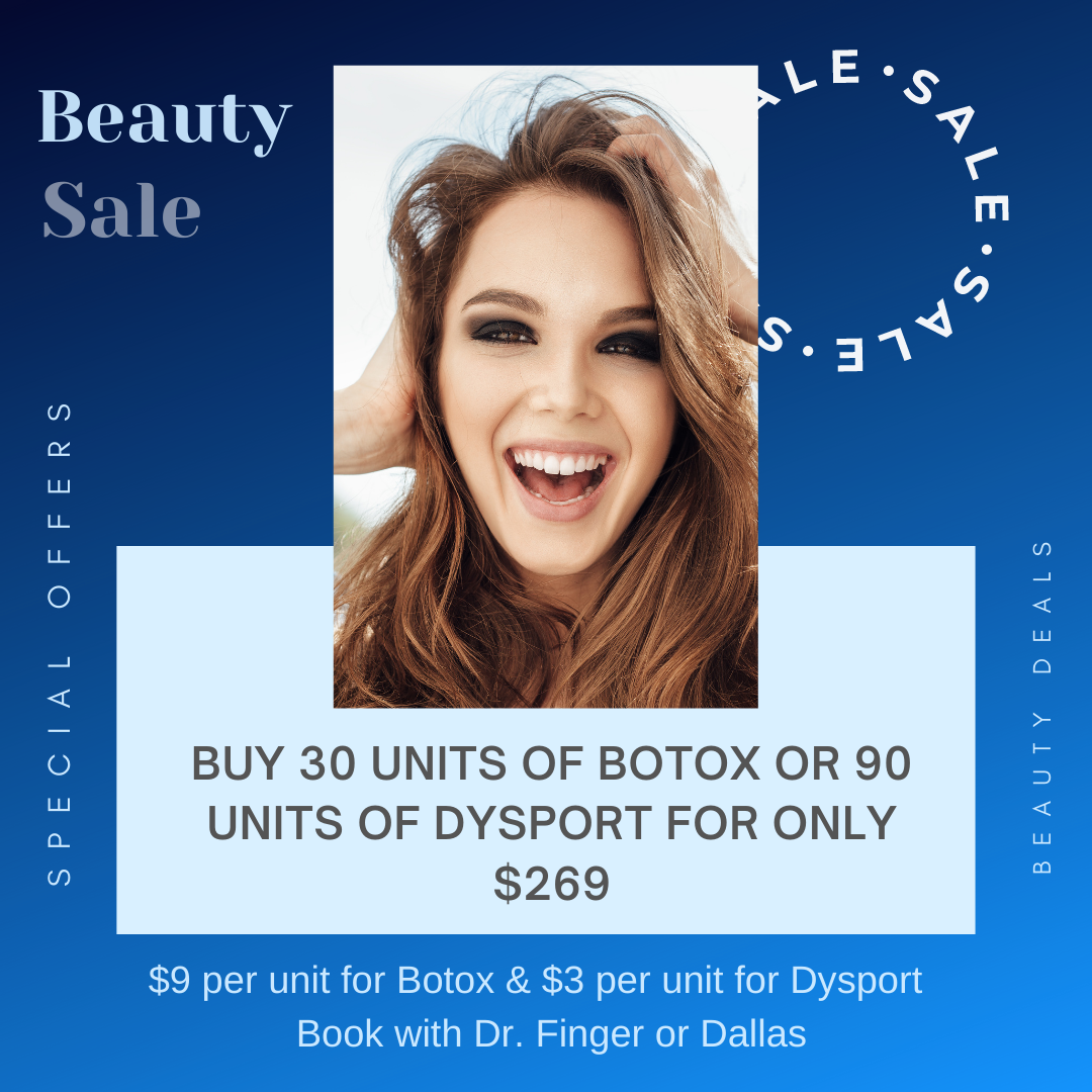 Dypsort & Botox New Youth Medial Spa New Year Beauty Offers