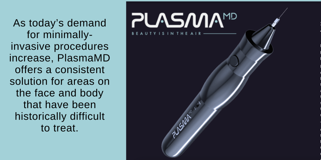 Plasma Treatments for skin tightening and to resurface skin are highly effective - PlasmaMD