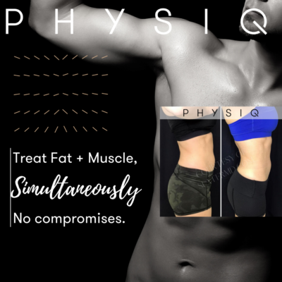 PHYSIQ Body Contouring is effective and requires no downtime at all